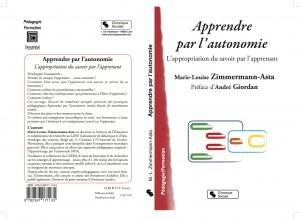 Apprendre par l'autonomie- Couverture